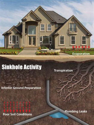 Sinkhole-Activity